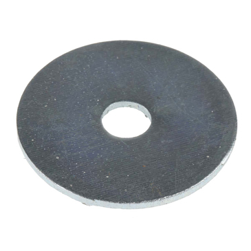 pack 10,zinc plated 6mm hole Penny repair mudguard washers medium M6 x 30mm