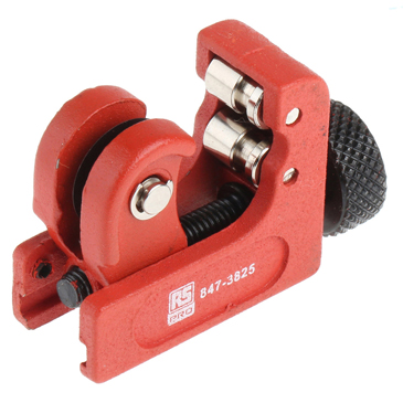 RS PRO Pipe Cutter 3 → 22 mm, Cuts Copper