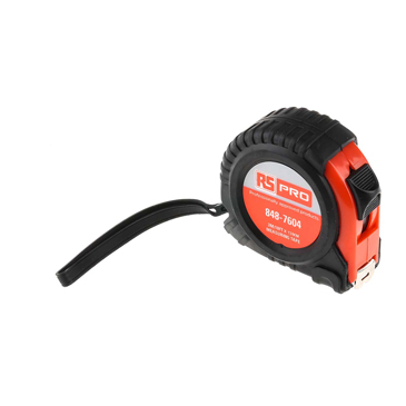 RS PRO 3m Tape Measure, Imperial, Metric