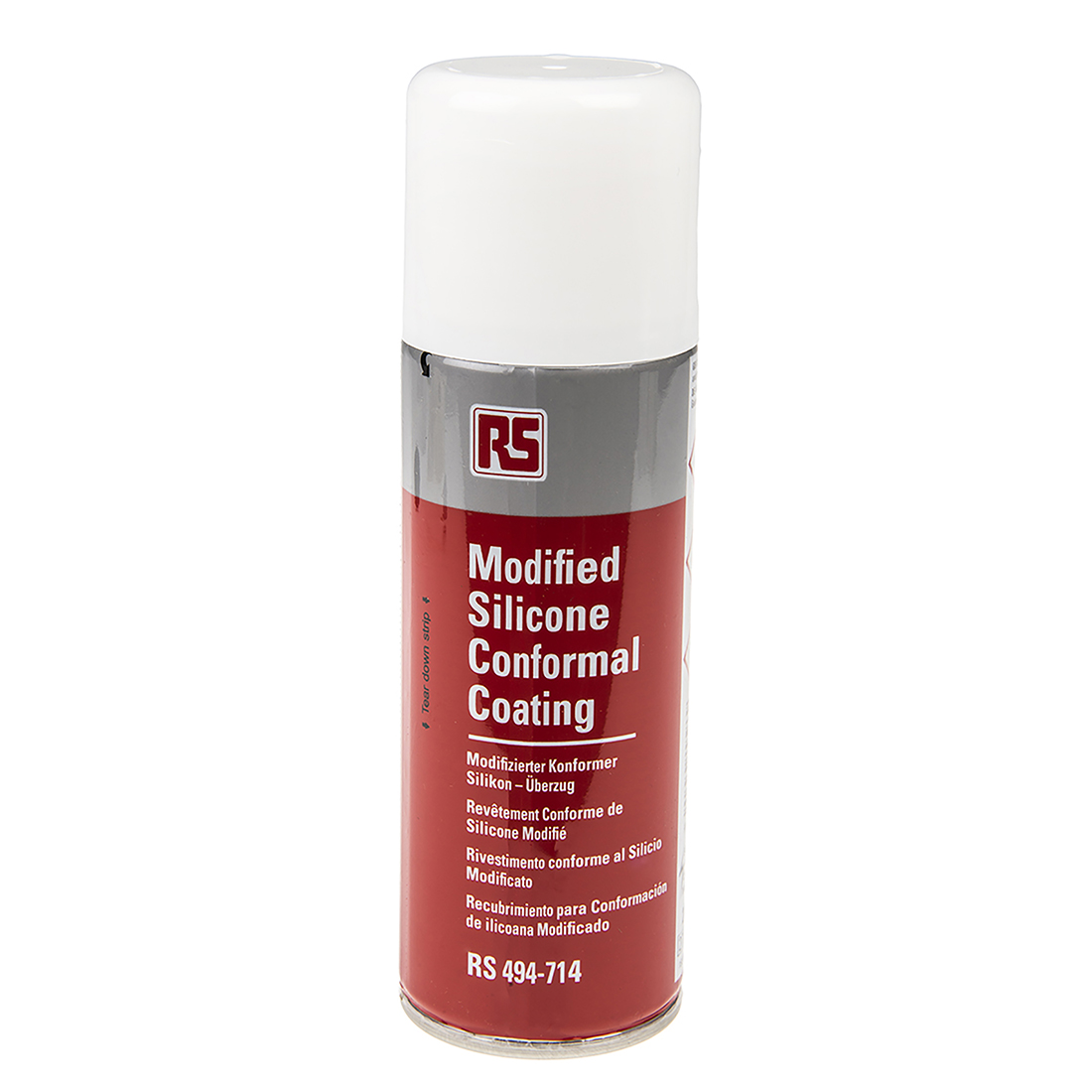 RS PRO transparent 200 ml Aerosol Conformal Coating for PCBs, -70 → +200 °C
