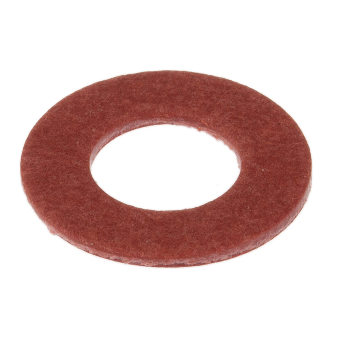M6 Plain Vulcanised Fibre Tap Washer, 0.8mm Thickness - 250 Pack