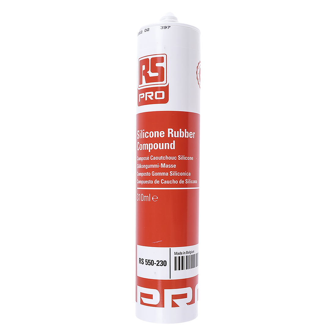 RS PRO Transparent Sealant Paste 310 ml Cartridge