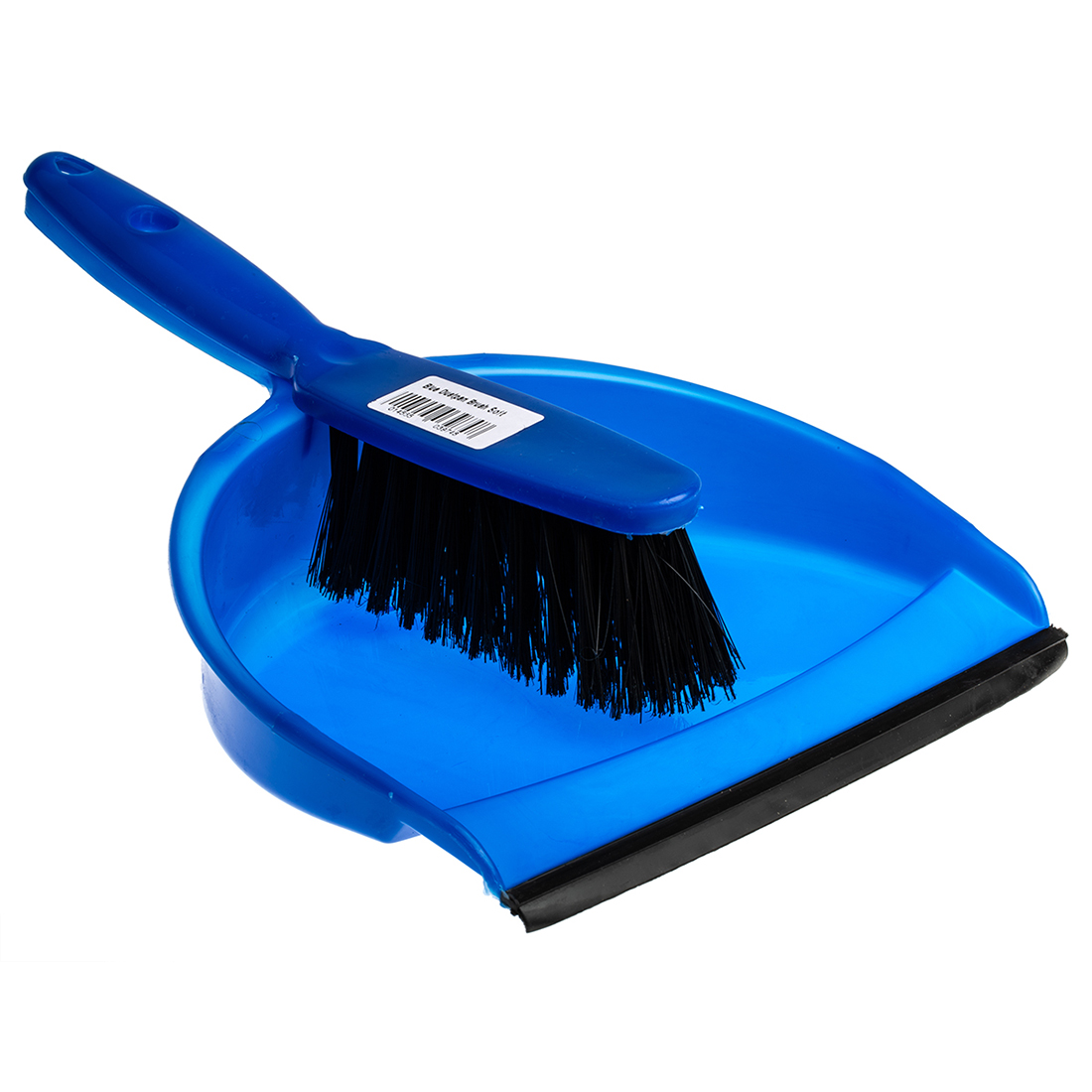 RS PRO Blue Dustpan & Brush for Dust with brush included