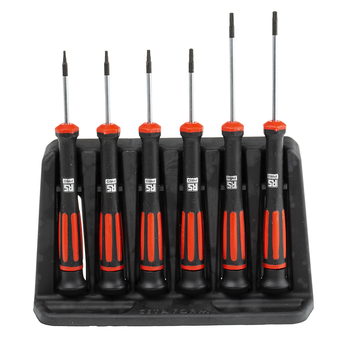 RS PRO Precision Phillips, Slotted Screwdriver Set 6 Piece