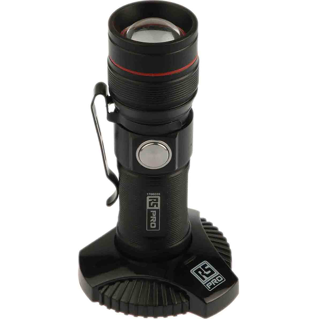 RS PRO LED LED Torch - Rechargeable 300 lm