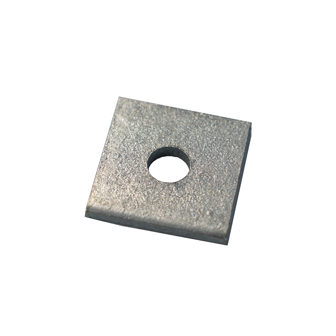 Dipped Galvanised Square Bracket 1 Hole, 12mm Holes, M10 x 40 x 5mm - Pack of 50