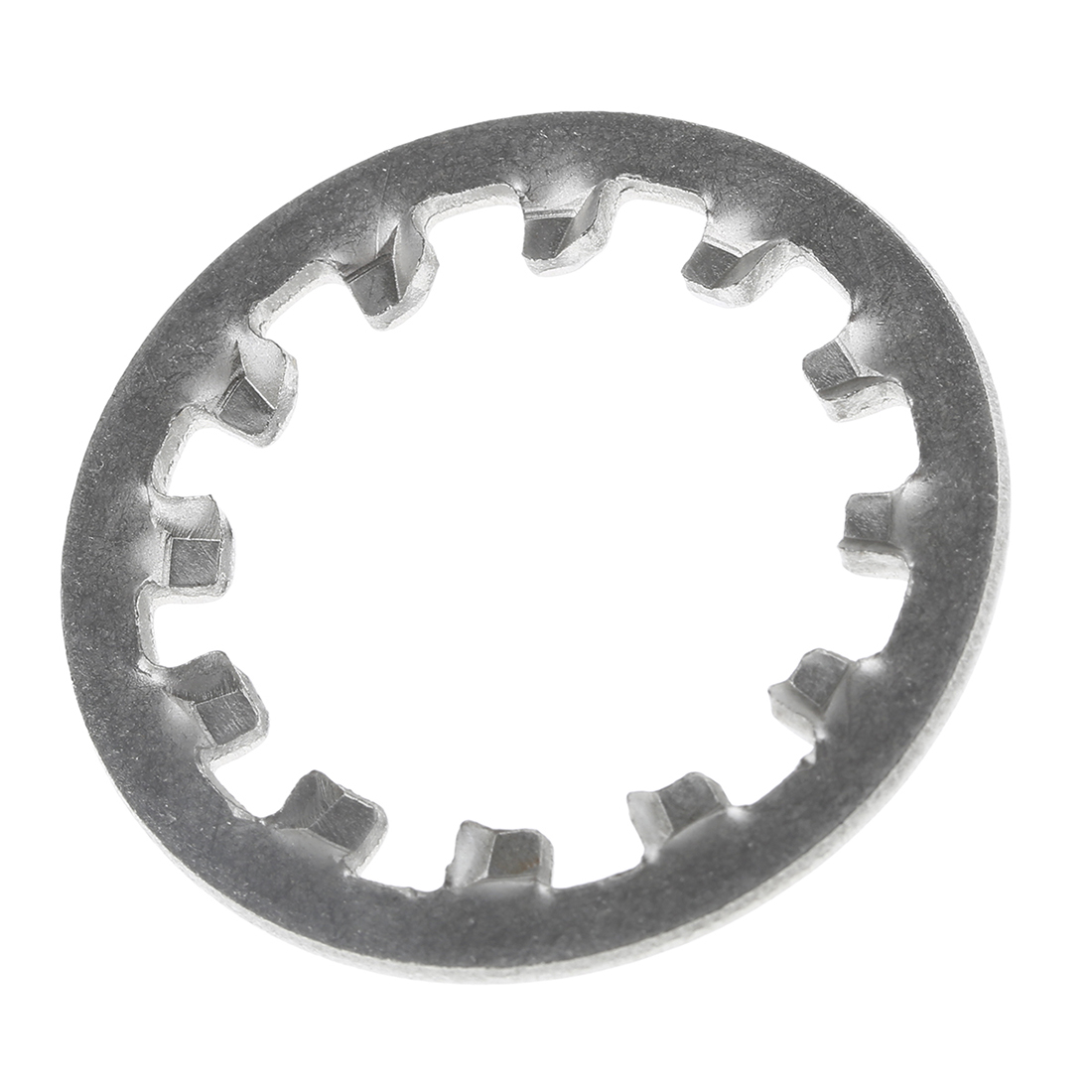 Plain Stainless Steel Internal Tooth Shakeproof Washer, M20, A2 304 - 50 Pack