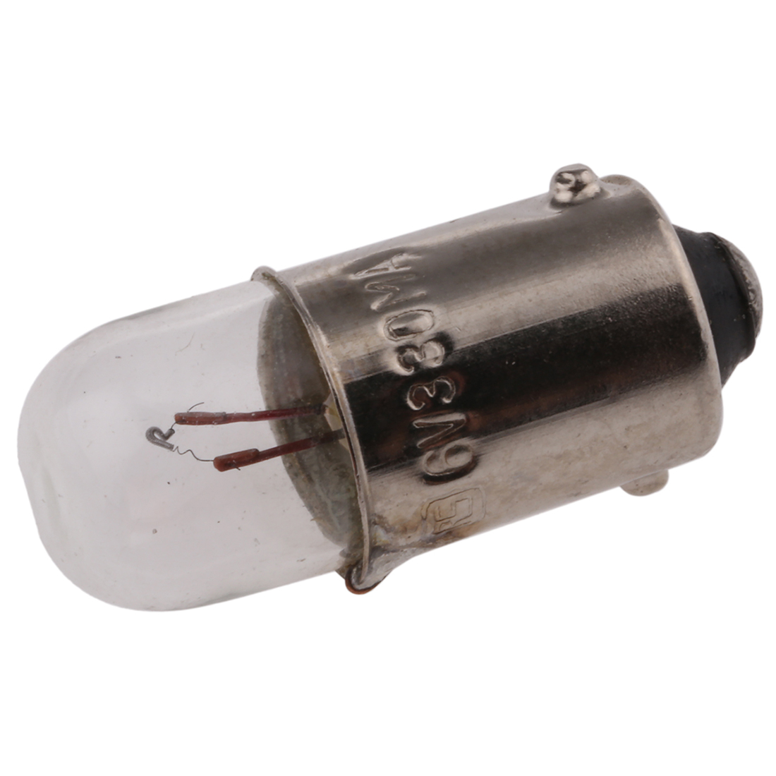 BA9s Indicator Light, Clear, 6 V, 330 mA, 15000h - Pack of 10