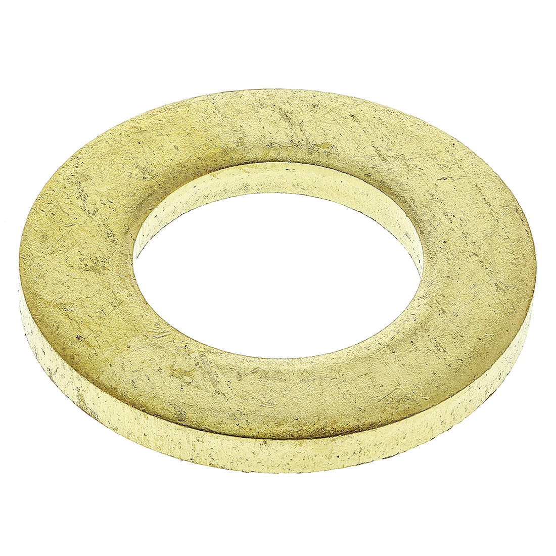 Brass Plain Washer, 2.5mm Thickness, M12 - 100 Pack