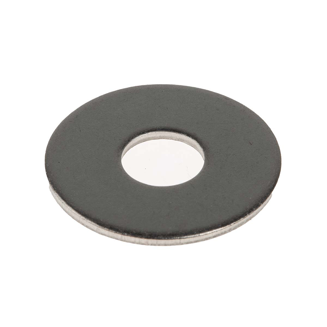 Plain Stainless Steel Mudguard Washer, M8 x 24mm, 2mm Thickness - 50 Pack