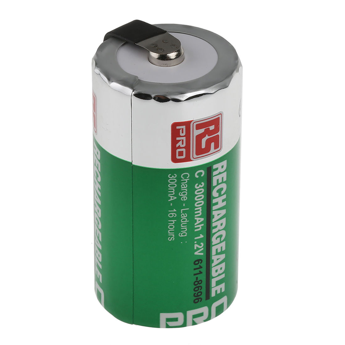 RS PRO NiMH C Rechargeable Battery, 3Ah