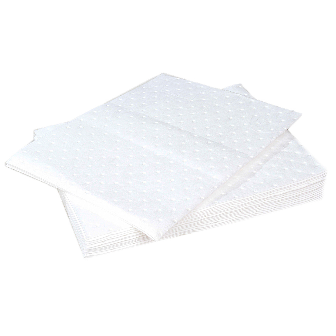 RS PRO Oil Spill Absorbent Pad 18 L Capacity, 20 Per Package - 20 Pack