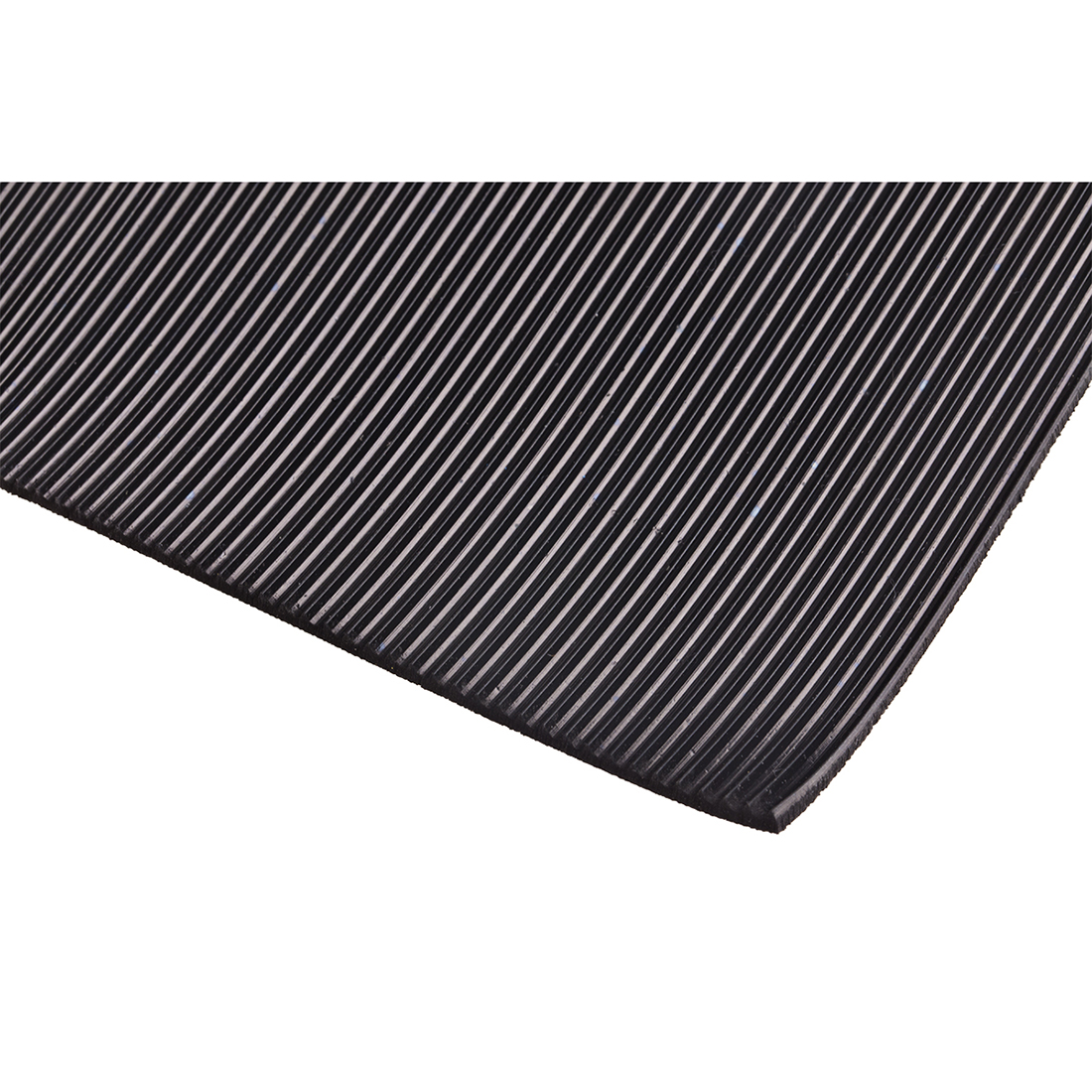 RS PRO Black Rubber Mat, L668mm x W515mm