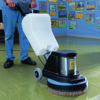 Cleaning And Floorcare HSS Hire - Turbo hybrid floor cleaner rental