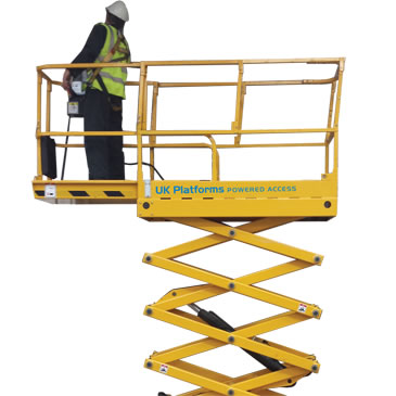 Optimum 8 8m Electric Scissor Lifts