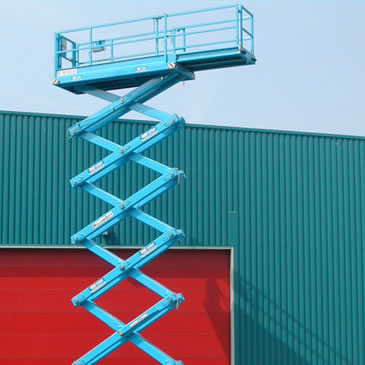 N-165EL12 18.5m Electric Scissor Lifts