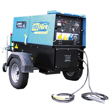 300amp Super Silenced Welder Generator