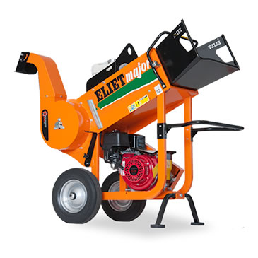 tree cutting and stripping machine