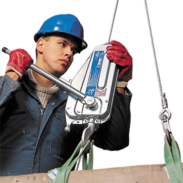 Manually Operated Tirfor Winches