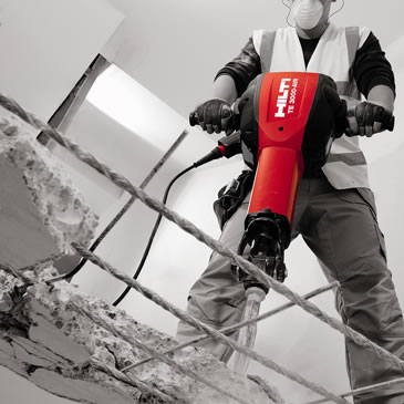 Hilti TE3000 - Heavy Duty 110v Breaker