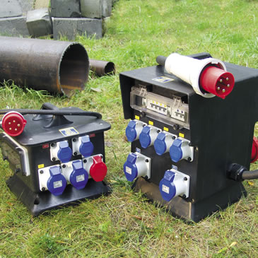 3 Phase (415 V) Rubber Distribution Assemblies