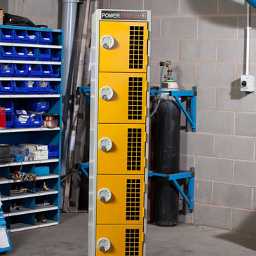 Battery Charging Site Lockers