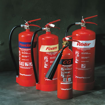 Standard Fire Extinguishers