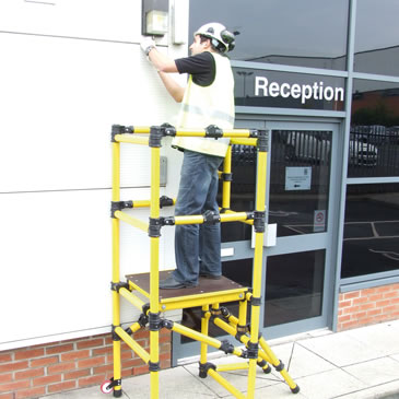 Non Conductive Podium Step