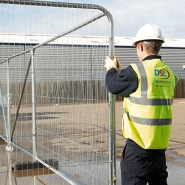 Temporary Fence - Mesh Fence Panels