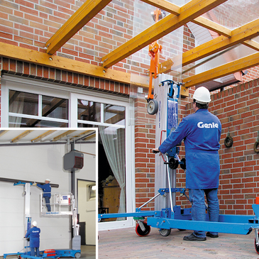 Genie Counter Balance Lifter Stacker Hire Packs