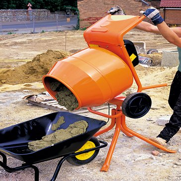 Tip-Up Concrete Mixers - 240v