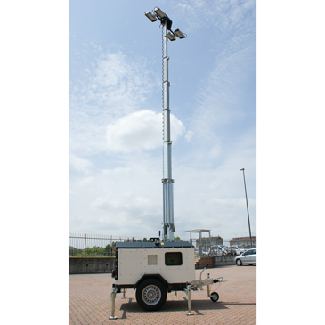 Lithium Ion Hybrid Lighting Towers