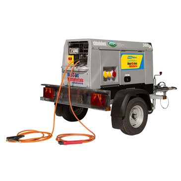 Red D'Arc 300 Amp Welder