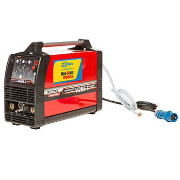 Red D'Arc 200 Amp TIG Inverter Welder