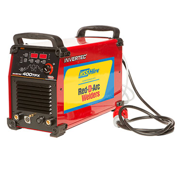 Red D'Arc 400 Amp TIG Inverter Welder