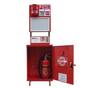 RF Fire Point Trolley & Extinguisher Systems