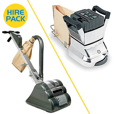 Floor and Edge Sander Hire Packs