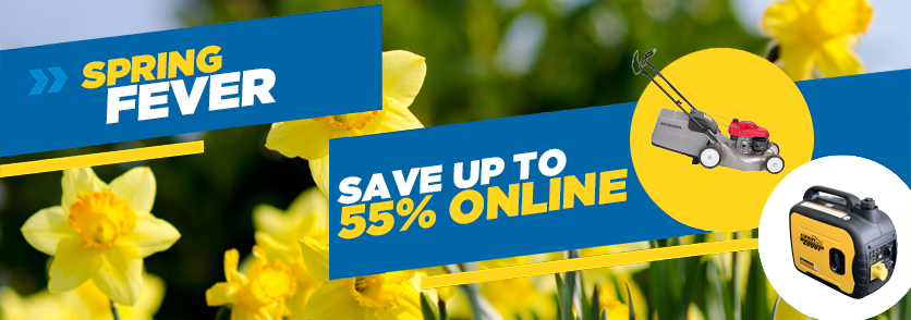 Spring savings on tool hire quipment