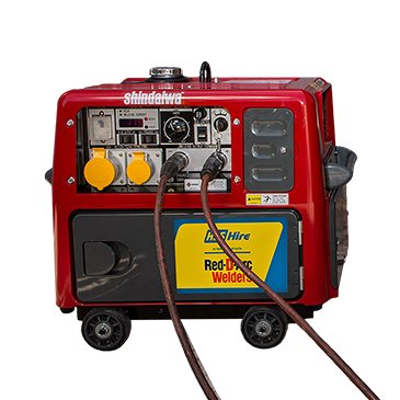 Red D'Arc 165 Amp Welder Generator