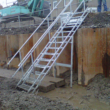 Temporary Site Staircases