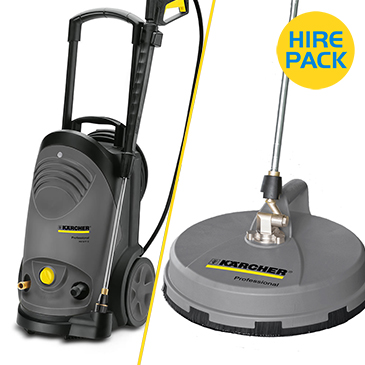 Mini Power Washer Hire Packs