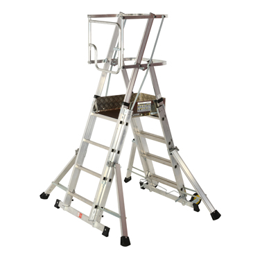 Adjustable Safety Platform Steps
