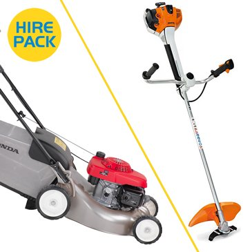 Rotary Mower Hire Packs