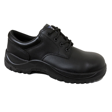 RS PRO Black  Toe Cap Safety Shoes, UK 11